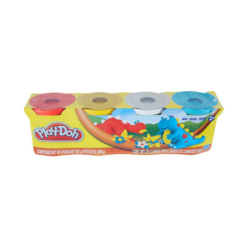 Playdoh Clasic Colors Pack Mainan Anak