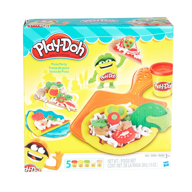Playdoh Pizza Party Yellow Mainan Anak