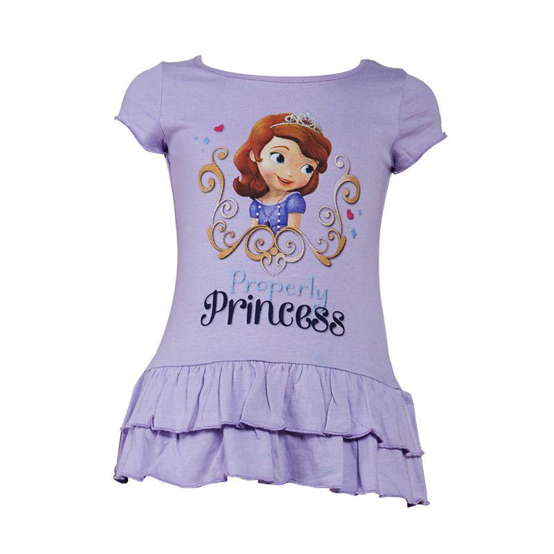 Sofia The First Baby Purple Dress Anak
