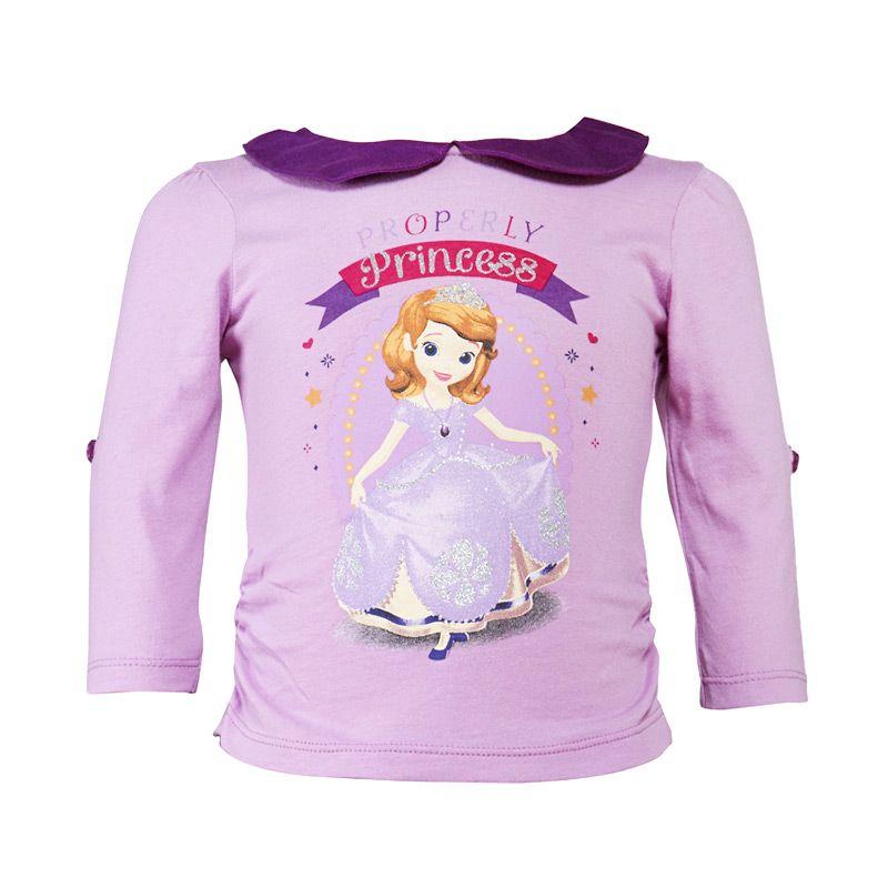 Sofia The First Baby T-Shirt PP Purple Atasan Bayi