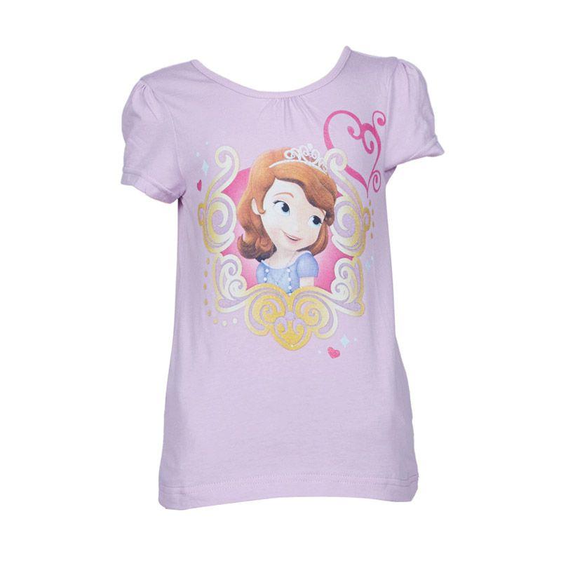 Sofia The First T-Shirt Purple Atasan Anak Perempuan