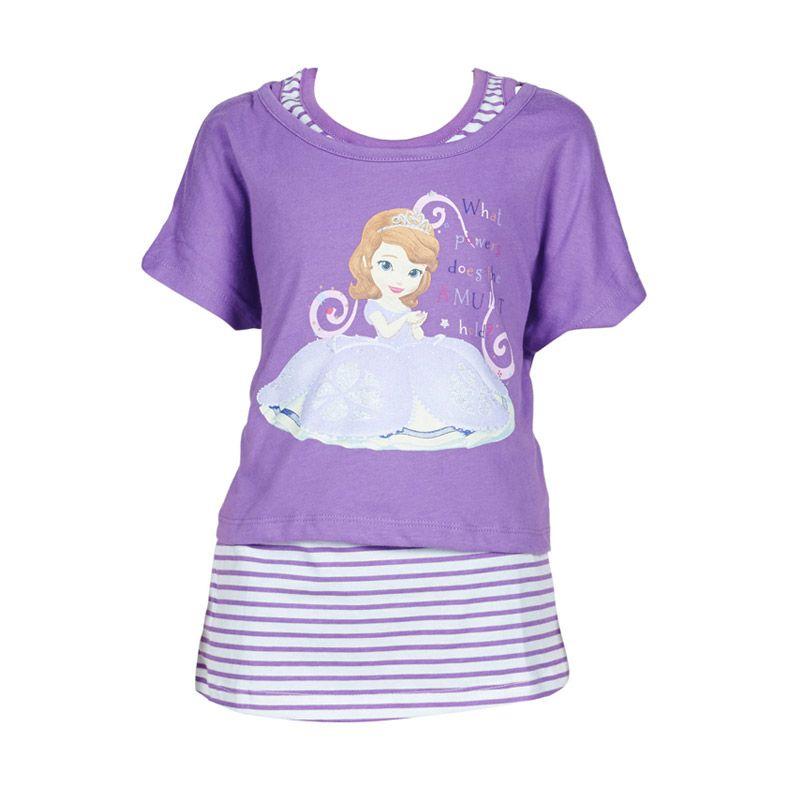 Sofia The First The Power T-Shirt Purple Atasan Anak Perempuan
