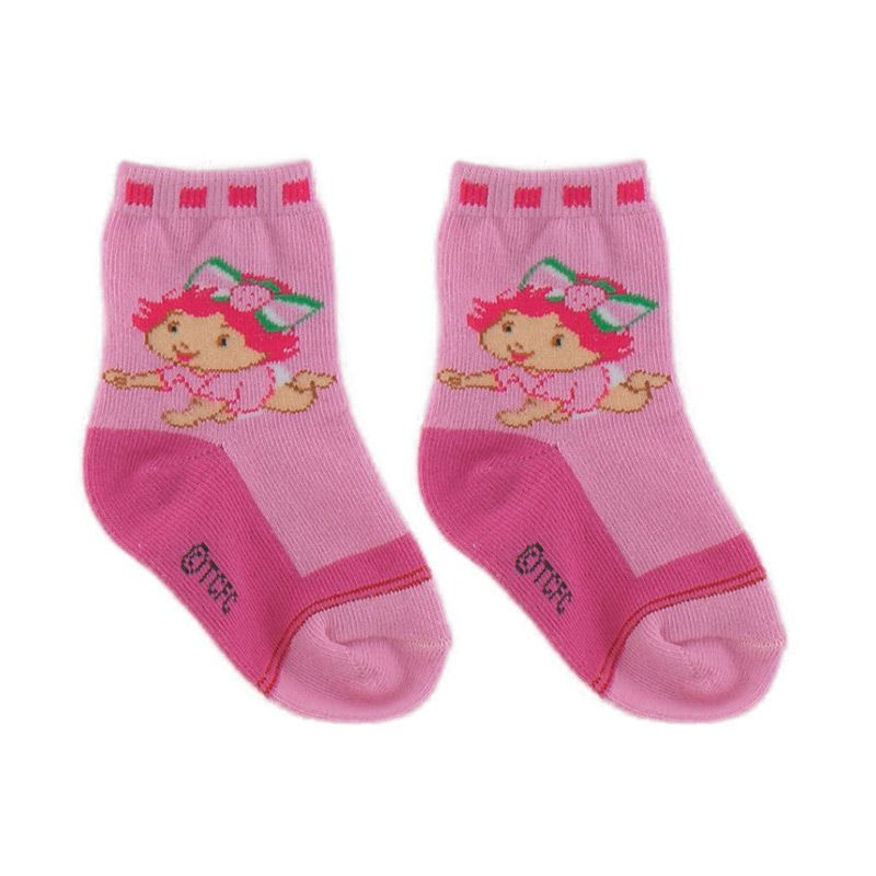 Strawberry Shortcake SSC005P Pink Kaos Kaki Bayi