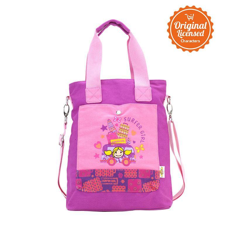 Surfer Girl Cross Body Bag Pink Tas Sekolah Anak