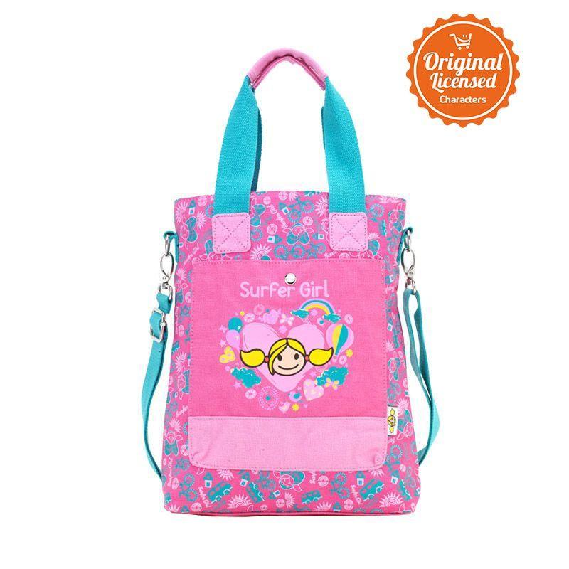 Surfer Girl Slingbag Flower Pink Tas Sekolah Anak