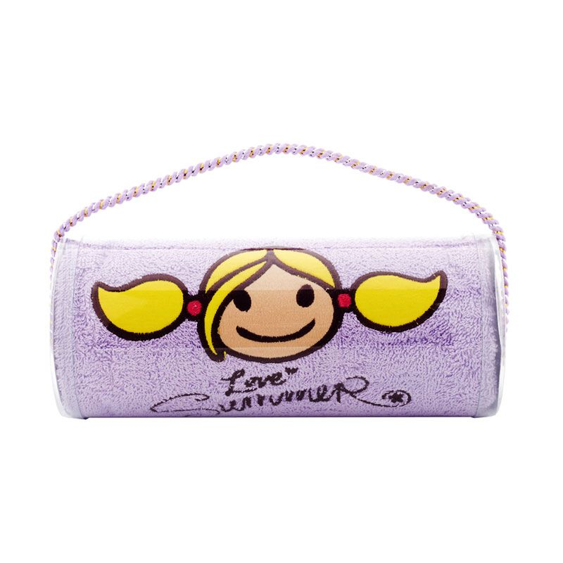 Surfer Girl Summer Signature Bath Violet Handuk