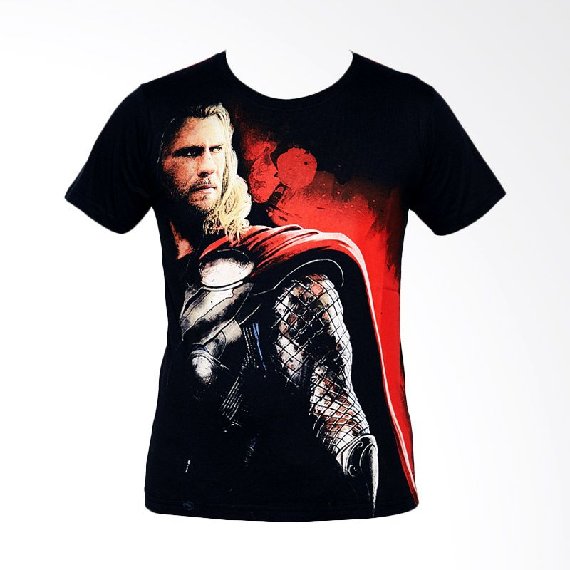 The Avengers Age Of Ultron Thor Man Black Baju Atasan Anak