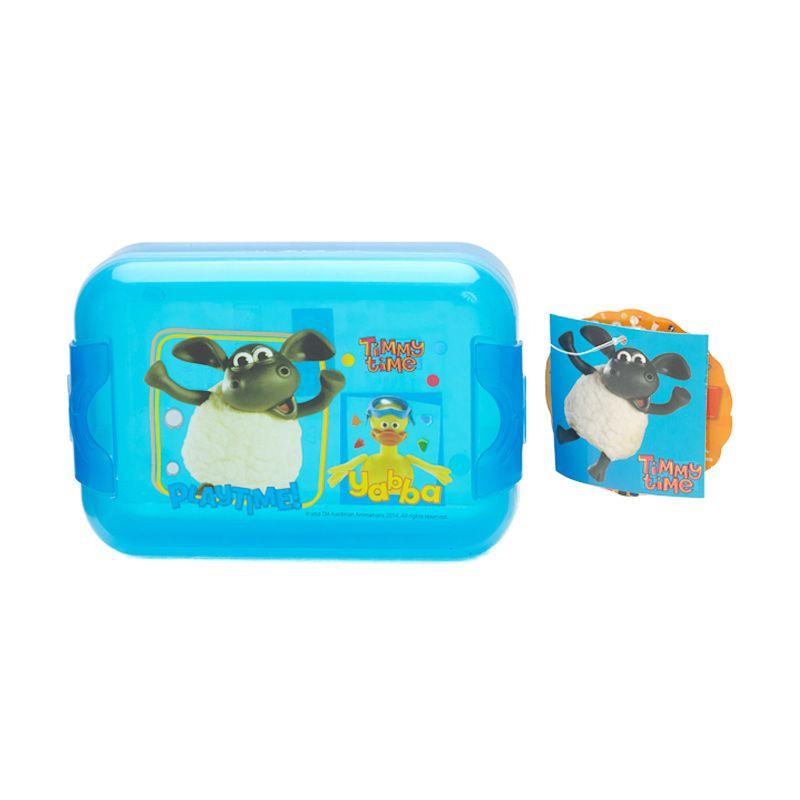 Timmy Time Blue Kotak Makan [500 mL]