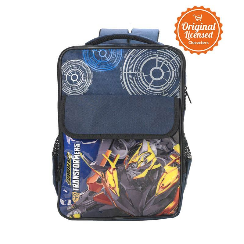 Transformers Bummble Bee Gear Blue Tas Ransel Anak [L]