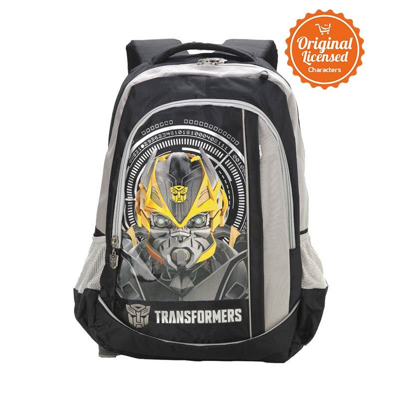Transformers Bummble Bee Head Rsack Black Tas Ransel Anak [L]