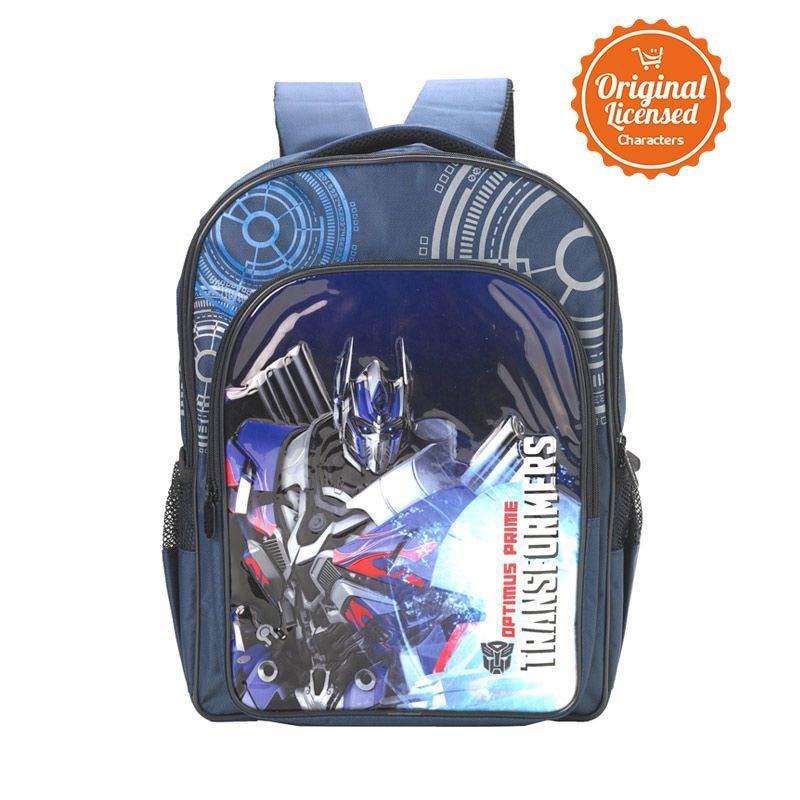 Transformers Optimus Prime Gear Blue Tas Ransel Anak [XL]