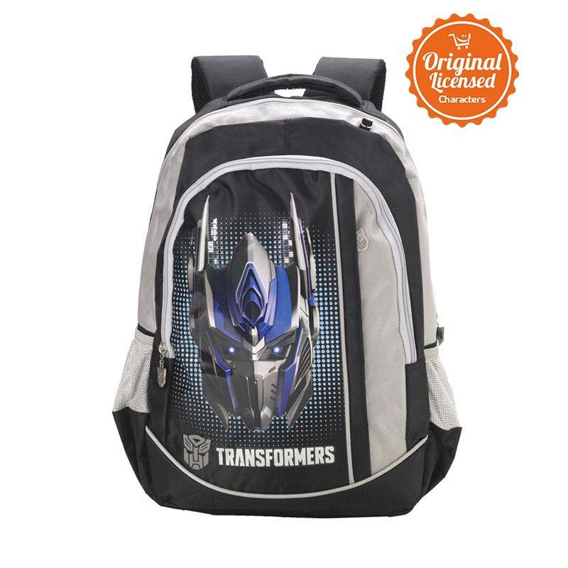 Transformers Optimus Prime Head Black Tas Ransel Anak [L]