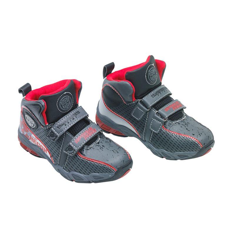 Transformers Skater Boy Red Sepatu Anak