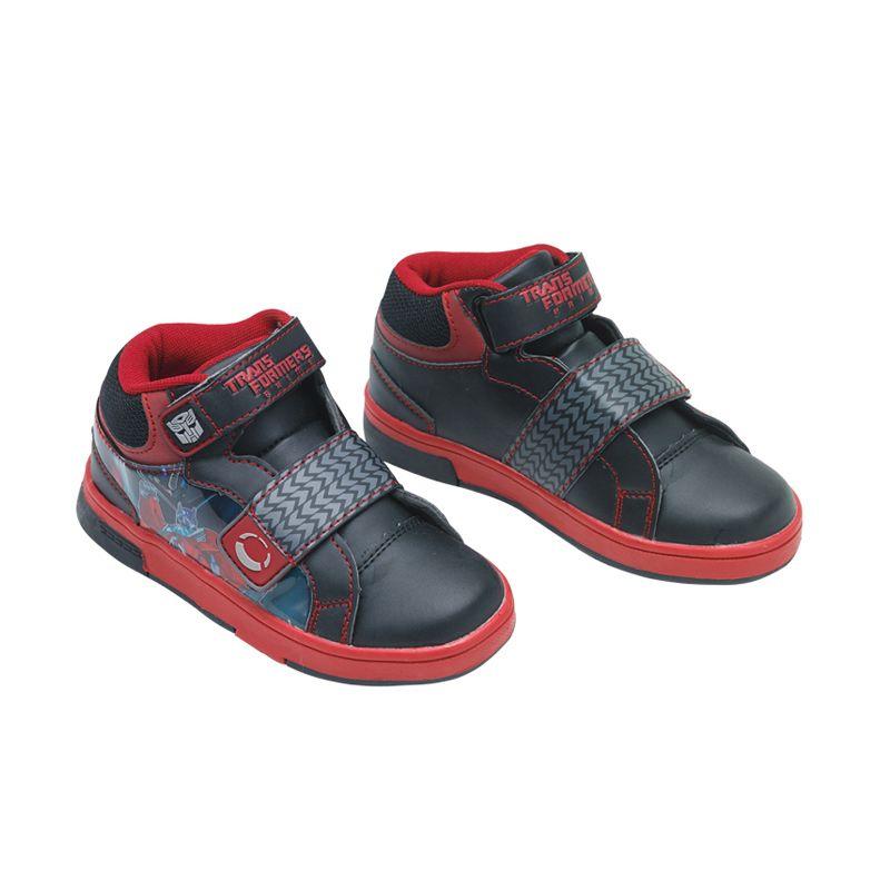 Transformers Hi-Cut Skater Boy Red Sepatu Anak