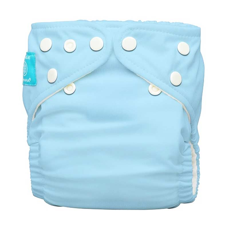 Charlie Banana Diapers One Size - Baby Blue