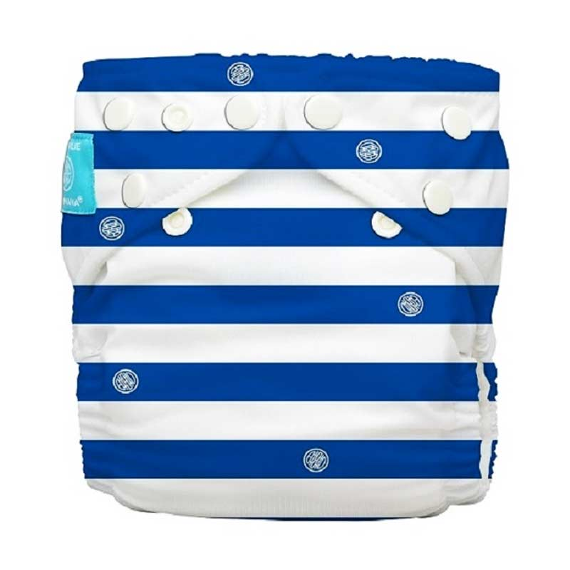 Charlie Banana Diapers One Size - Blue Stripes