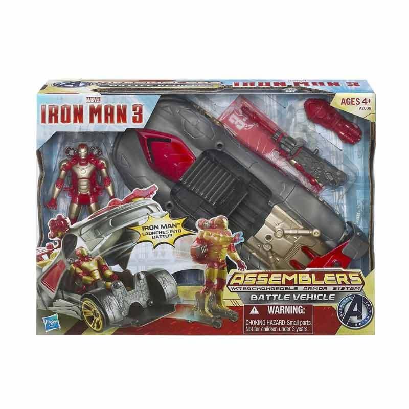 Hasbro Marvel Iron Man 3 Assemblers Battle Vehicle