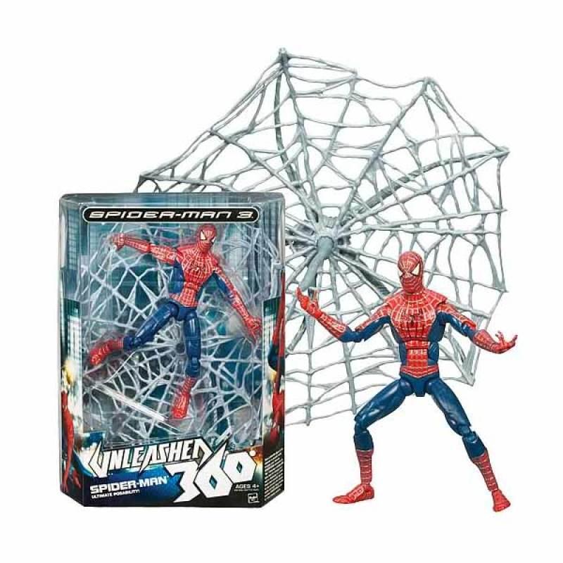 Hasbro Spiderman 3 Unleashed 360 Spiderman