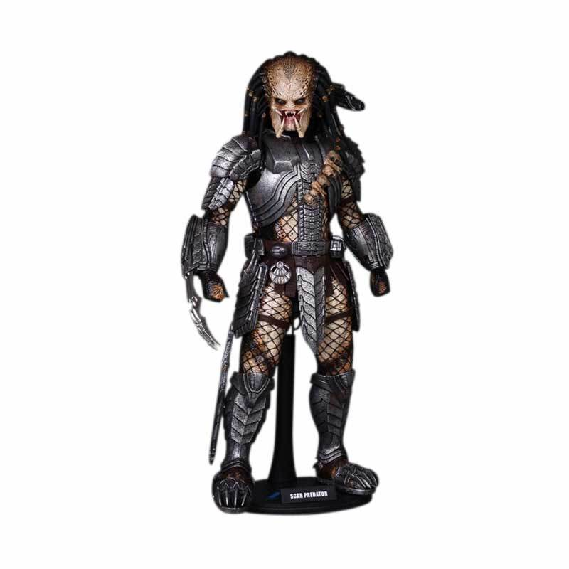 Hot Toys AVP Alien Vs. Predator Scar Predator Action Figure
