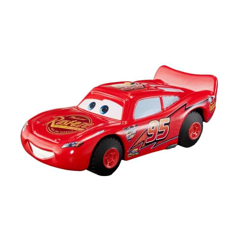 Mattel Cars Lighting McQueen Stunt Motor Action Figure