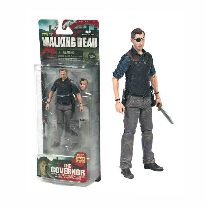 harga McFarlane The Walking Dead Governor Action Figure Blibli.com