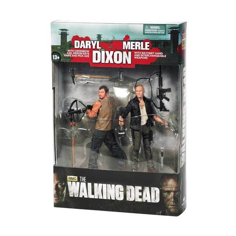 McFarlane The Walking Dead Dixon Brother