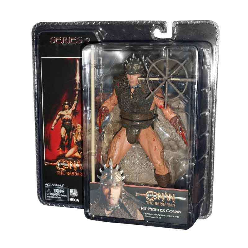 Neca Conan The Barbarian Pit Fighter Conan Action Figure