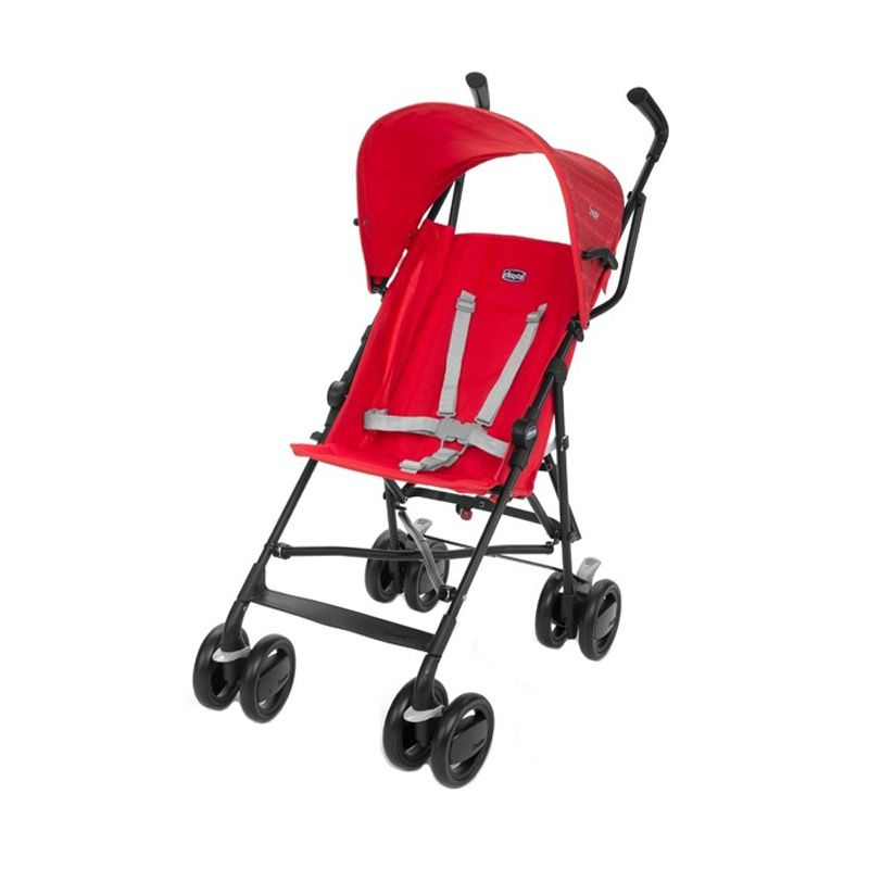 Chicco Snappy Stroller Fire 79257.190 Red Kereta Dorong Bayi