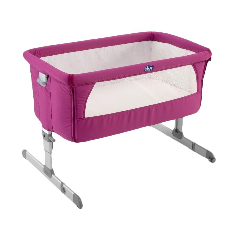 Chicco 79339680 Next2Me Crib Tempat Tidur Bayi - Fuschia