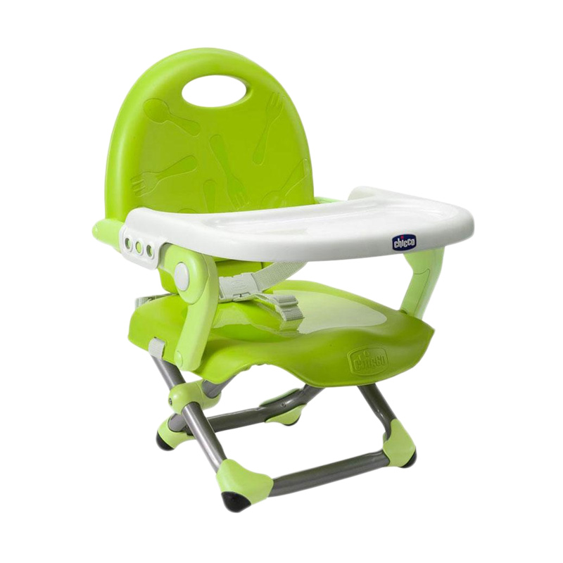 Chicco Pocket Snack Booster Seat Kursi Makan Bayi - Lime
