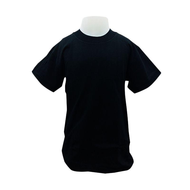 Chicford Children Round Neck Black T-Shirt