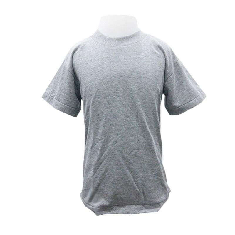 Chicford Children Round Neck Grey T-Shirt