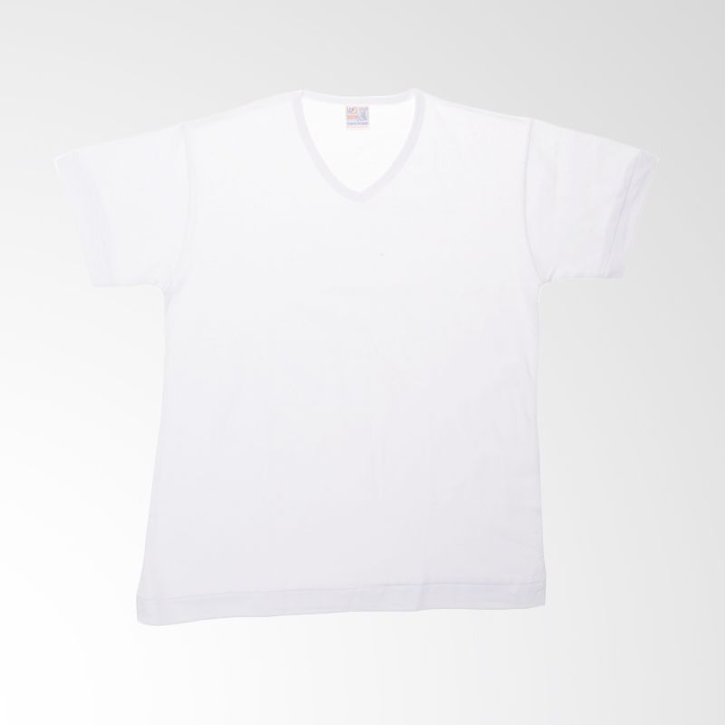 Chicford Children V-Neck White T-Shirt