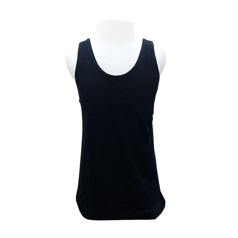 Chicford Children Vest Black T-Shirt