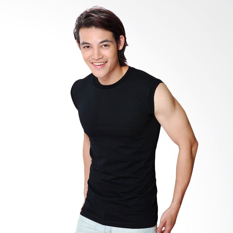 Chicford Round Neck Sleeveless Black
