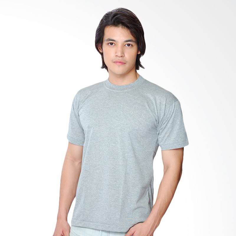 Chicford Round Neck T-Shirt Grey