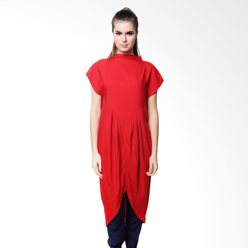 Chick Shop Apple Merah Blouse