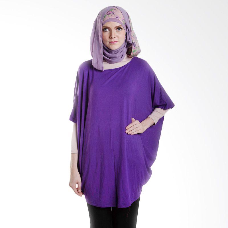 Chick Shop Kalong Lebar Panjang Purple Atasan Wanita