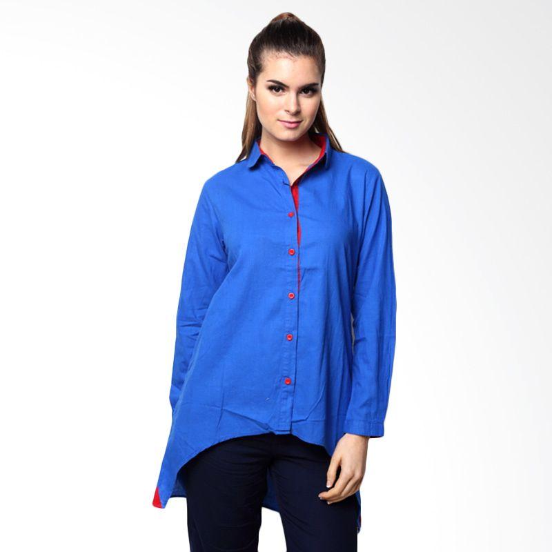 Chick Shop Penguin Biru Shirt Perempuan