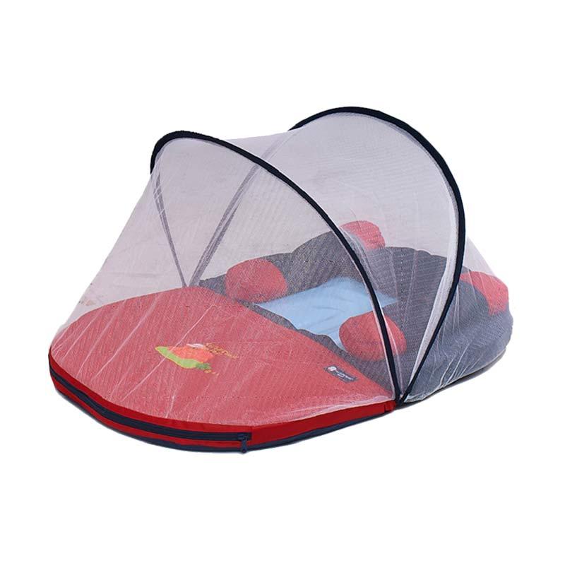 harga Chintaka Kasur Bayi Lipat Oval + Kelambu - Navy CBK140300 Blibli.com