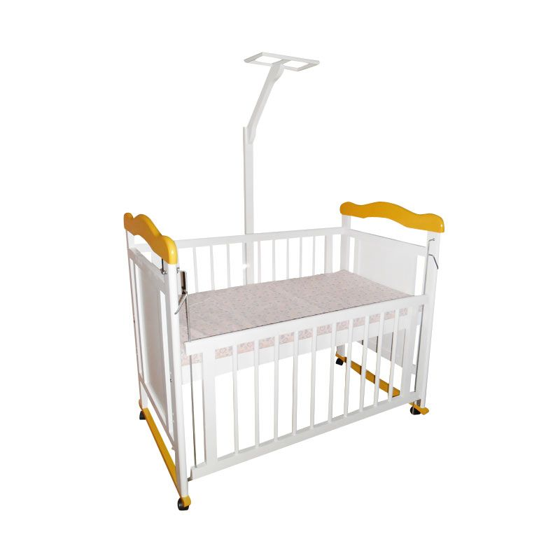 Chloe Furniture Mallorca Baby Crib Yellow