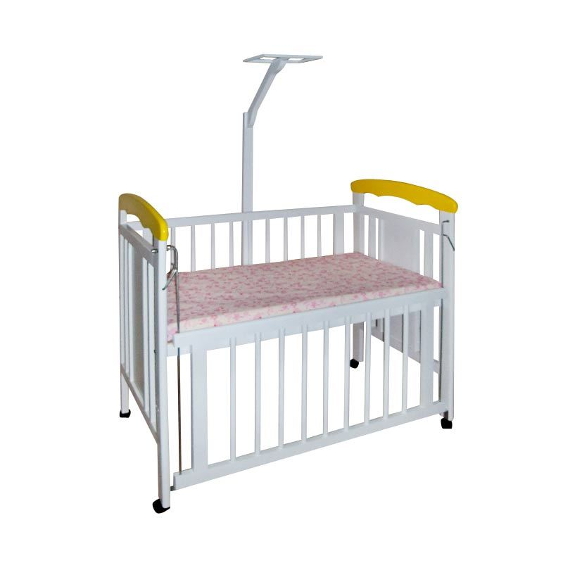 Chloe Furniture Vienna Baby Crib Yellow