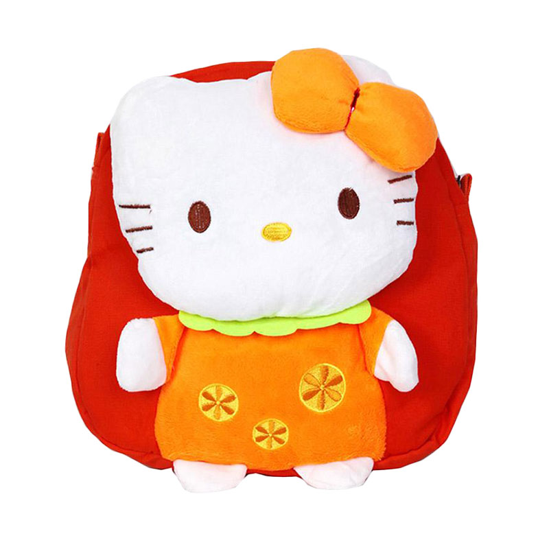 Chloe Babyshop Hello Kitty C72 Back Pack - Orange