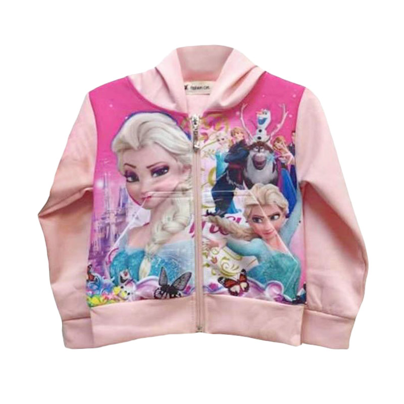 Chloe Babyshop - Frozen Peach F316 Jacket Anak