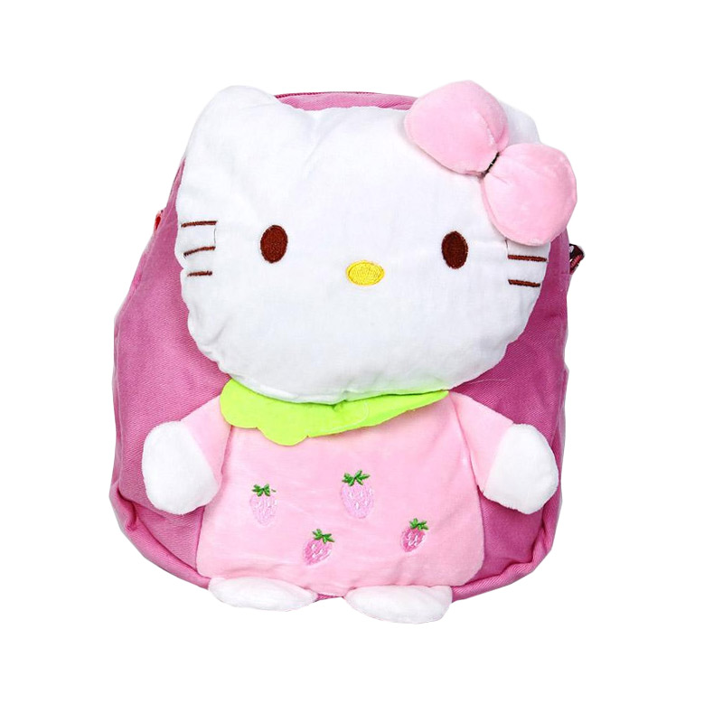 Chloe Babyshop C72 Back Pack Hello Kitty - Peach
