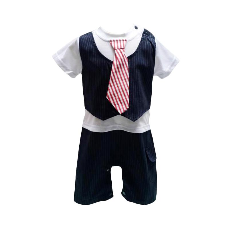 Chloe Babyshop Tuxedo F574 Romper Anak