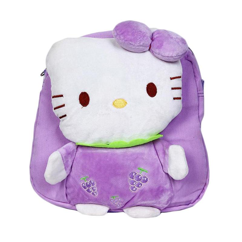 Chloe Babyshop C72 Back Pack Hello Kitty - Purple