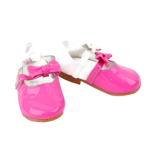 Chloe Babyshop Balerina 2 Ribbon S59 Sepatu Anak Perempuan - Pink