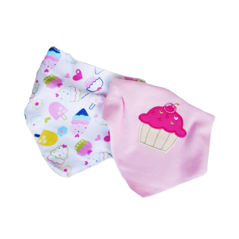 ChloeBaby Shop Bib Sleber Segita Cupcake BB10I Celemek Bayi