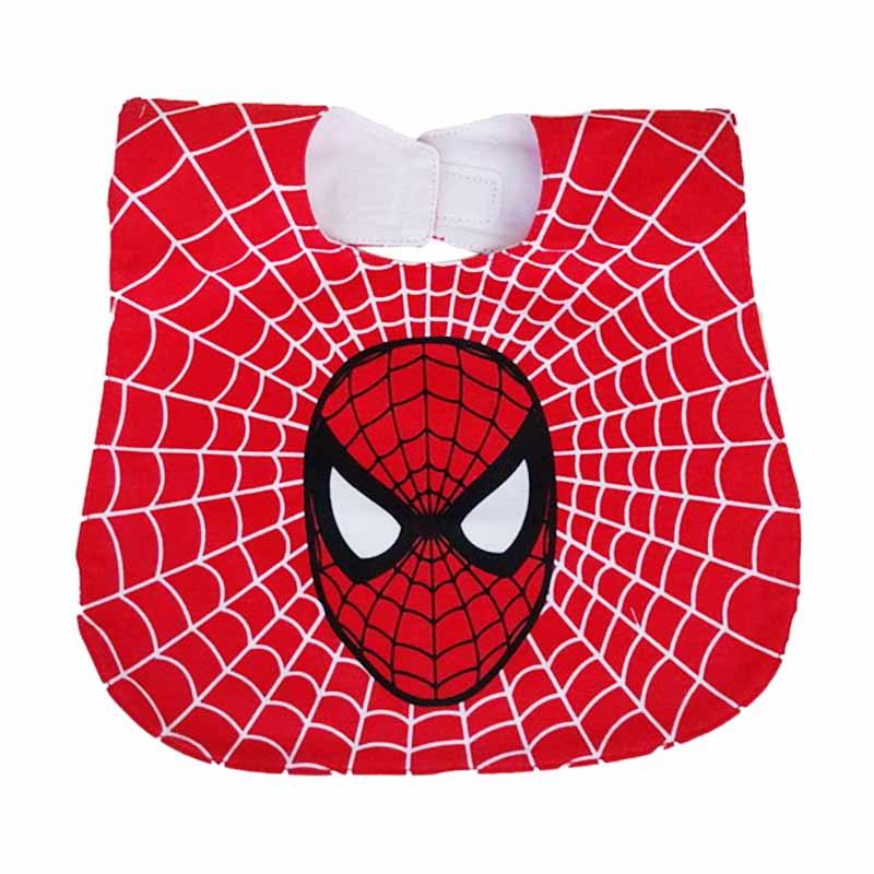 Chloe Babyshop Bib Sleber Spiderman BB11C Celemek Bayi